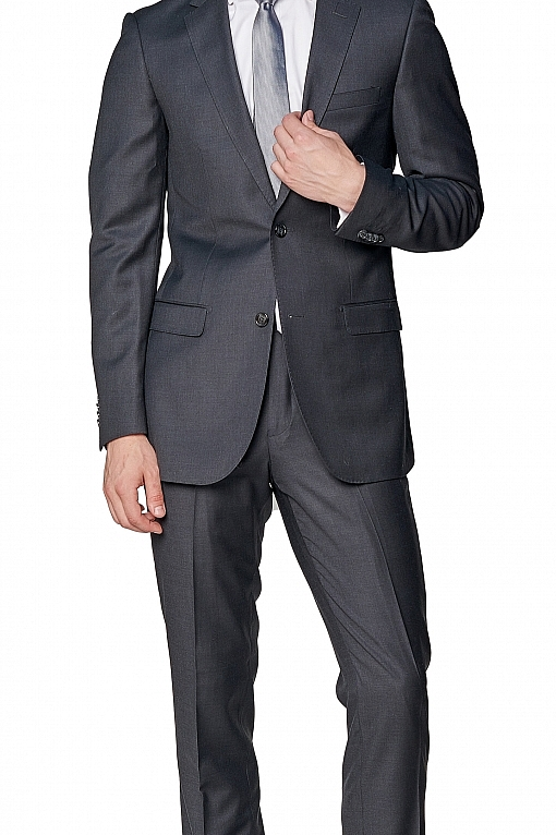 Giovanni Bresciani Charcoal Grey Suit