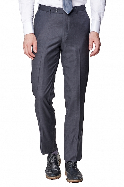 Giovanni Bresciani Charcoal Grey Pants