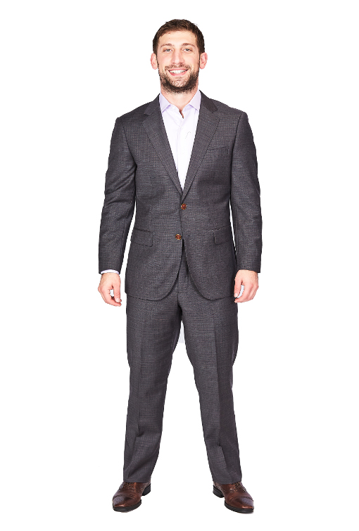 Bresciani Grey Box Suit