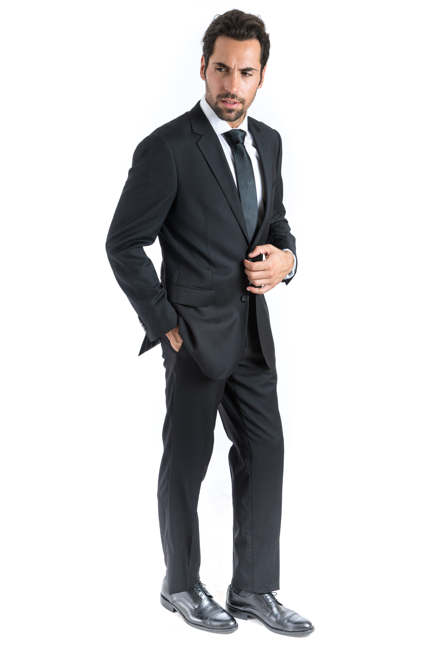 Bresciani Black Suit