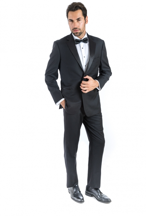 Bresciani Black Notch Tux