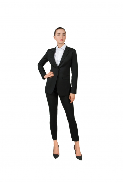 Bellezza Black Women's Suit