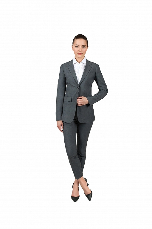 Bellezza Medium Grey Women's Suit