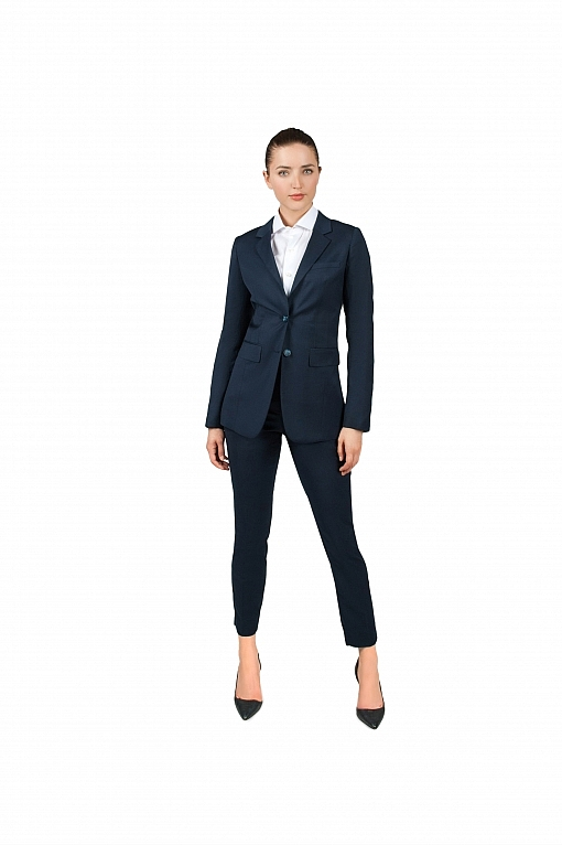 Bellezza Navy Blue Women's Suit