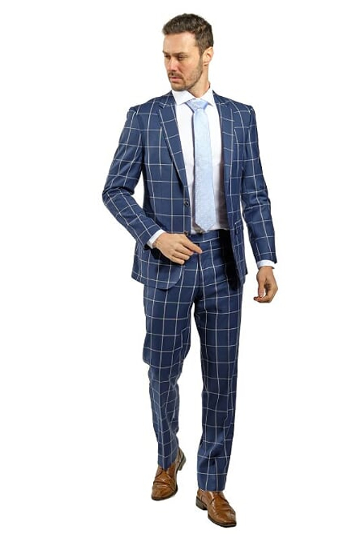 Giovannni Bresciani Slim Fit Suit