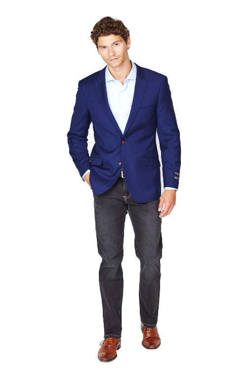 Giovanni Bresciani Blue Executive Sport Jacket