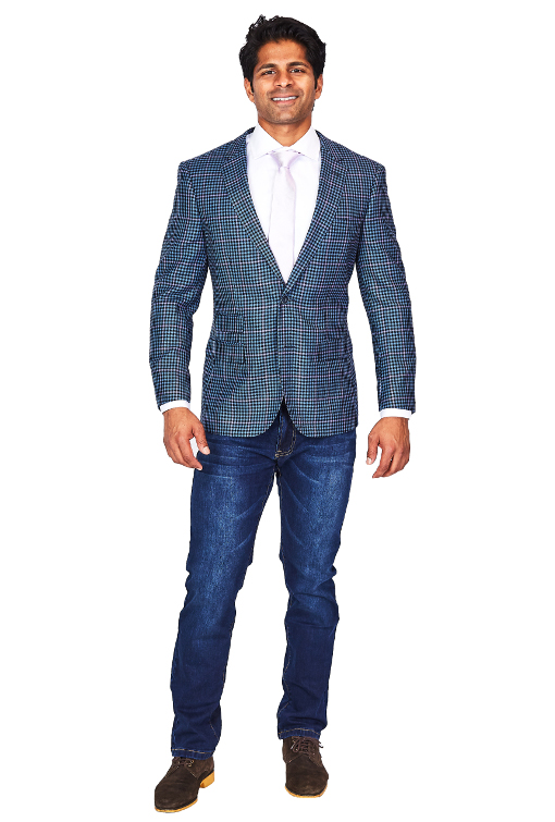 Giovanni Bresciani Slim Fit Sport Jacket