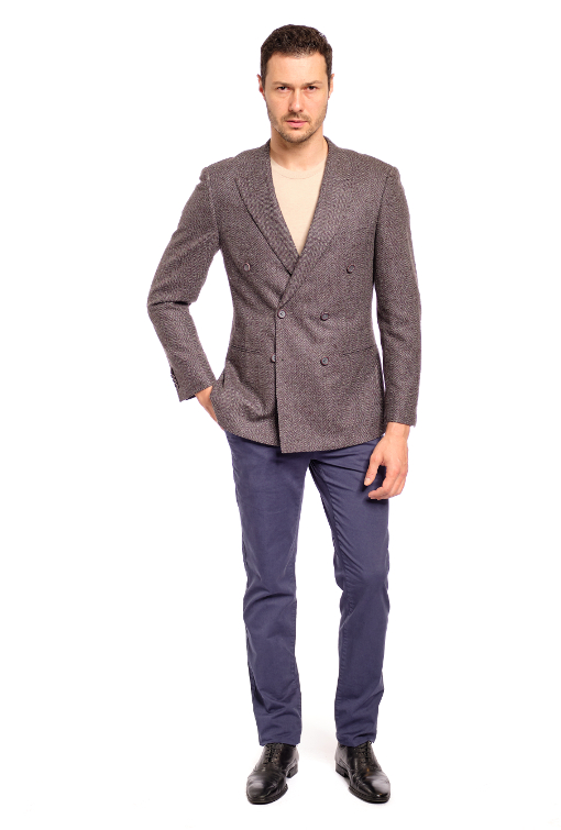 Wool/Silk/Cashmere Sport Jacket