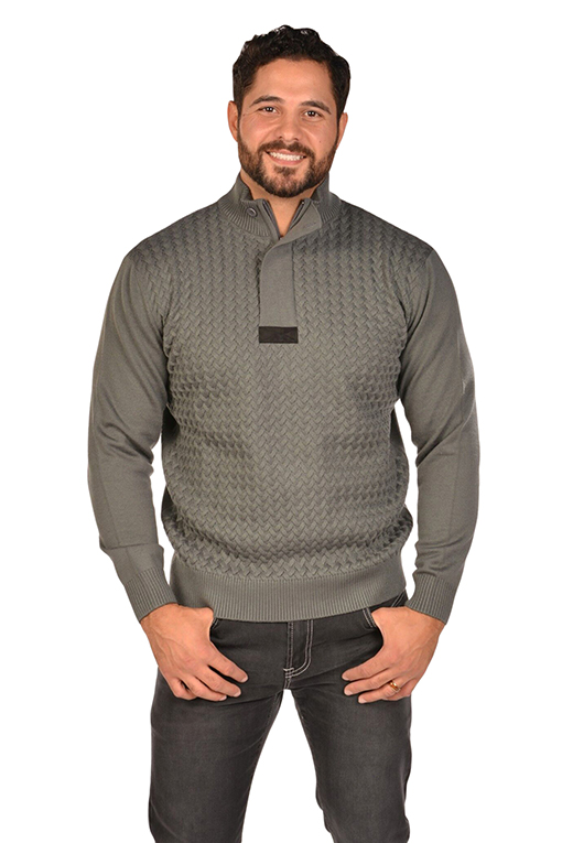 RGB-Cable Grey Sweater