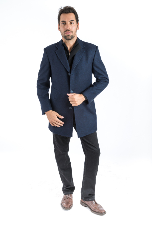 Sartoria Tosi Navy Surprise Overcoat