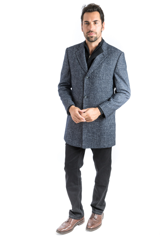 Sartoria Tosi Black Riches Overcoat