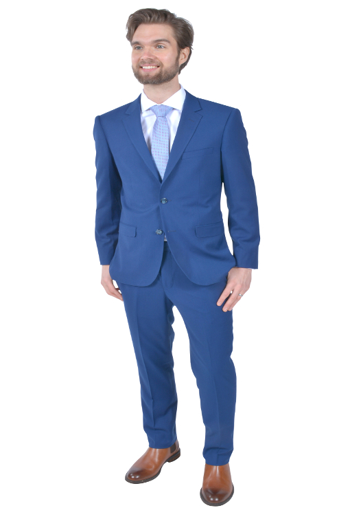 TS-Stunning Blue Suit