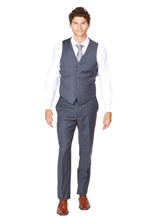 Giovanni Bresciani Medium Grey Vest