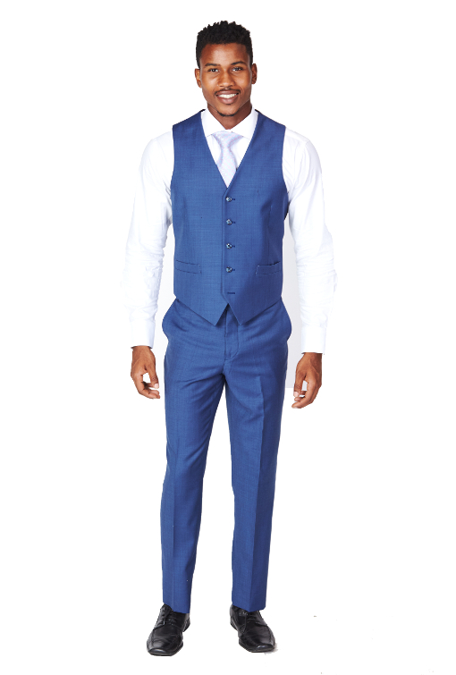 Giovanni Bresciani Royal Blue Vest